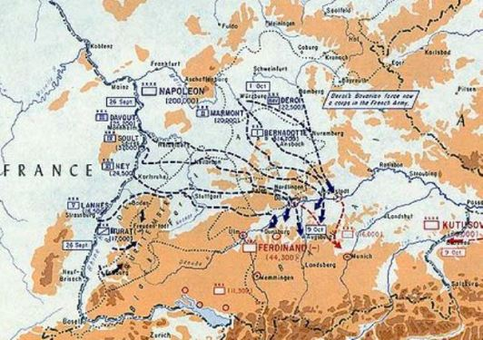 Ulm Campaign, 1805.